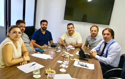 Primera reunión de la Junta Directiva abriendo el año empresarial 2019/2020