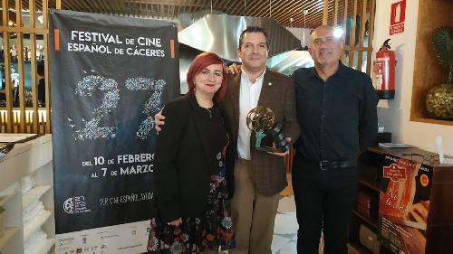 CEC gana el premio a los empresarios comprometidos con la cultura en el 27º Festival del Cine Español de Cáceres
